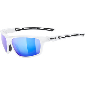 UVEX Sportstyle 229 Glasses, wit/blauw
